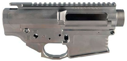 Picture of an electroless coated Black Rain Ordnance 308 Receiver