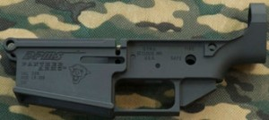 Picture of a Stripped DPMS 308 AR Lower Receiver Before Being Assembled