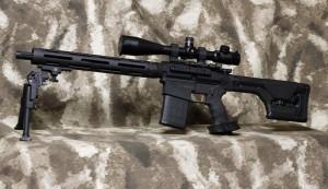 """DPMS 308 Tactical Sniper Rifle18"""", 308 AR Compatible"""