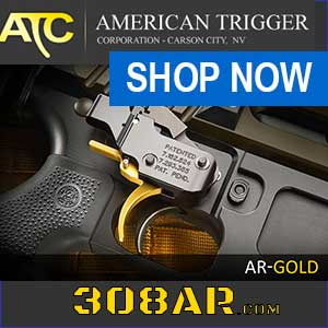 PACT American Trigger SR Gold AR 10 Trigger | AR 308 TRIGGER For Sale