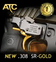 Pact American Trigger Corp Best AR Trigger SR Gold