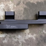 """Side View Disassembled - BOBRO Precision Optic Mount 1"""", Slightly Extended"""
