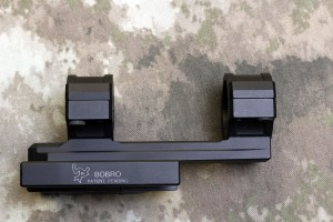"Picture of a Bobro Scope Mount,BOBRO Precision Optic Mount 1"", Slightly Extended"