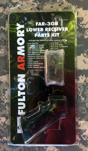 Fulton Armory FAR 308AR Lower Parts Kit Without Trigger