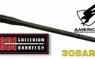 ADM Nitride Coated 308AR Barrels UC10