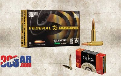 Federal Gold Medal Match 308 Winchester Match Ammunition
