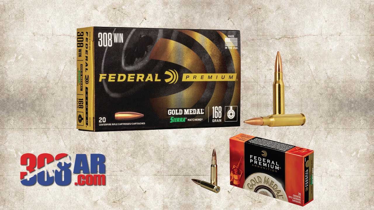 Picture of Federal Gold Medal Sierra MatchKing .308 Winchester GM308M