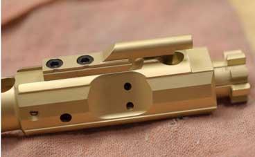 Prime Weaponry 308AR Titanium Nitride Bolt Carrier Group