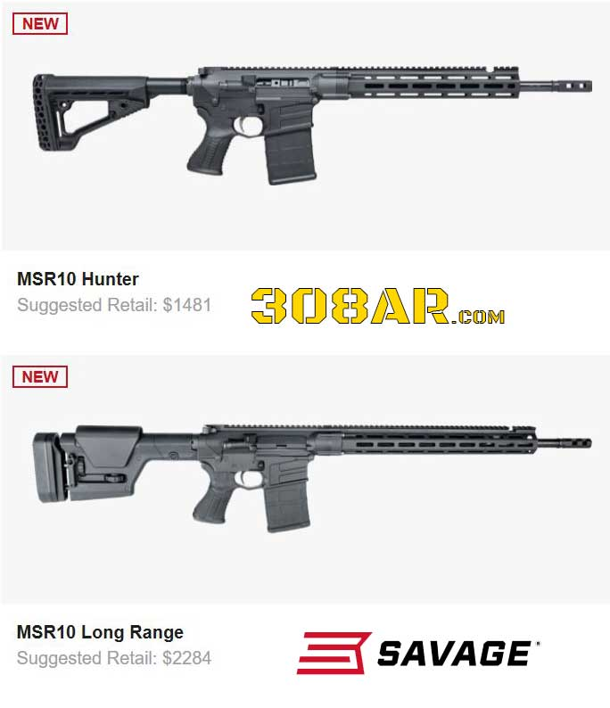 Savage Arms MSR10 AR 10