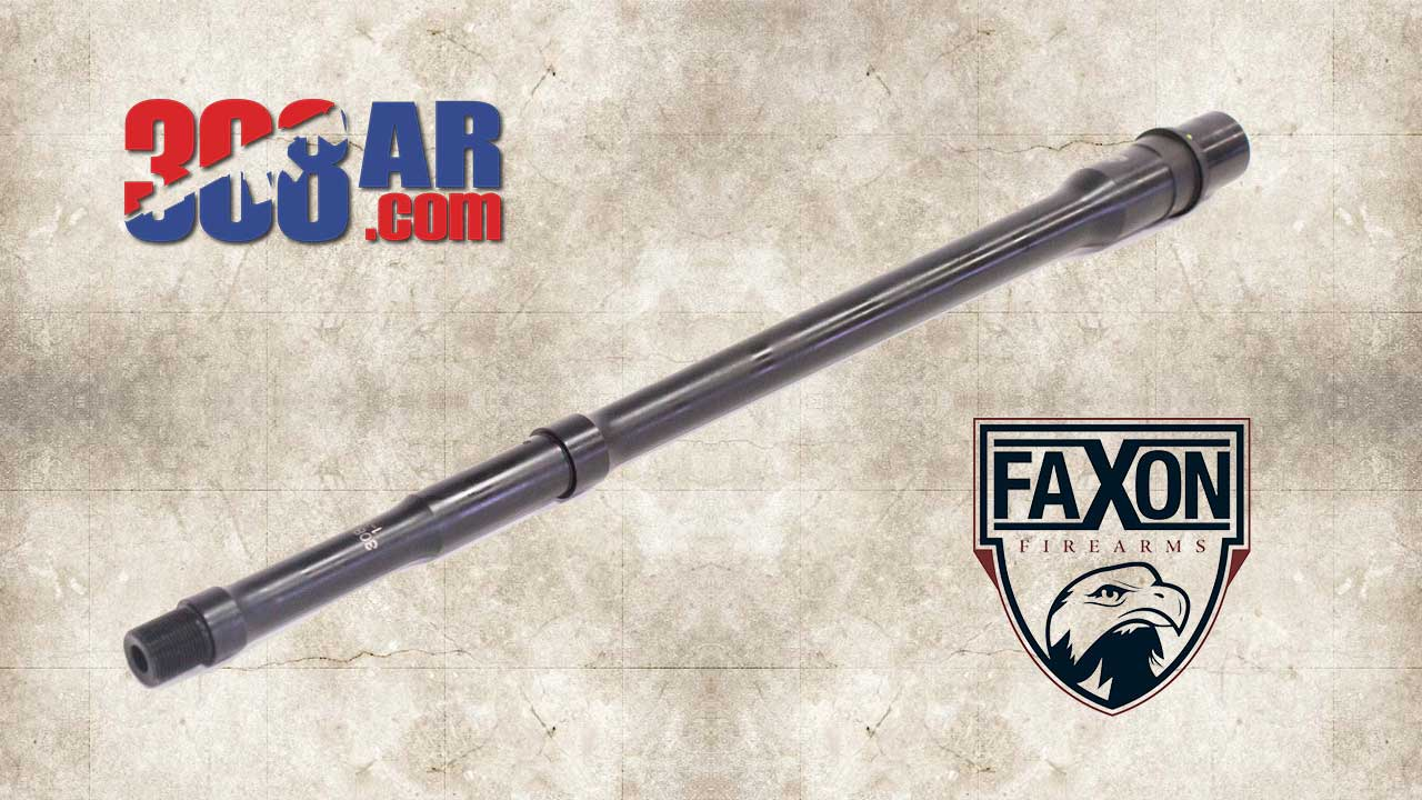 Picture of a FAXON FIREARMS BIG GUNNER PROFILE 308 AR BARREL