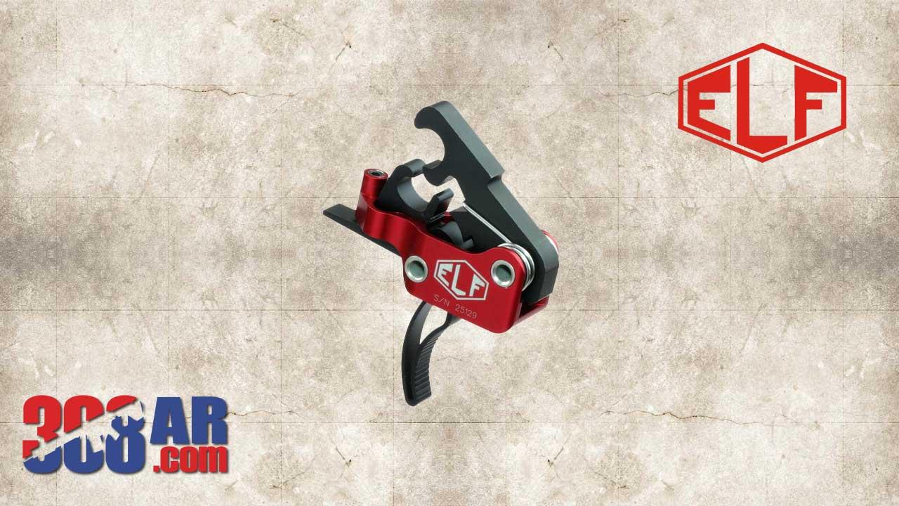 Elftmann Tactical AR-10 308 AR Curved Trigger