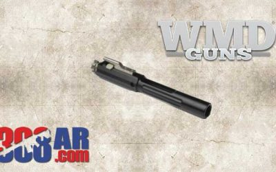 WMD NiBXBCG308-N 308 AR Bolt Carrier Group w Nitromet Carrier