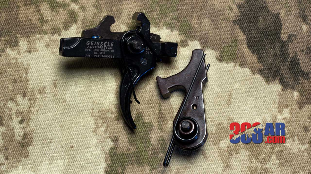 Picture of a Geissele Super Semi-Automatic Enhanced SSA-E Trigger
