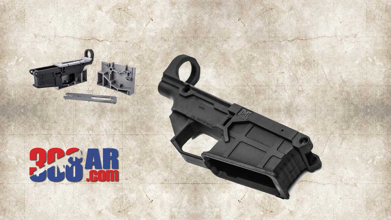 Picture of a James Madison Tactical 80 Percent 308 AR Polymer Lower Receiver
