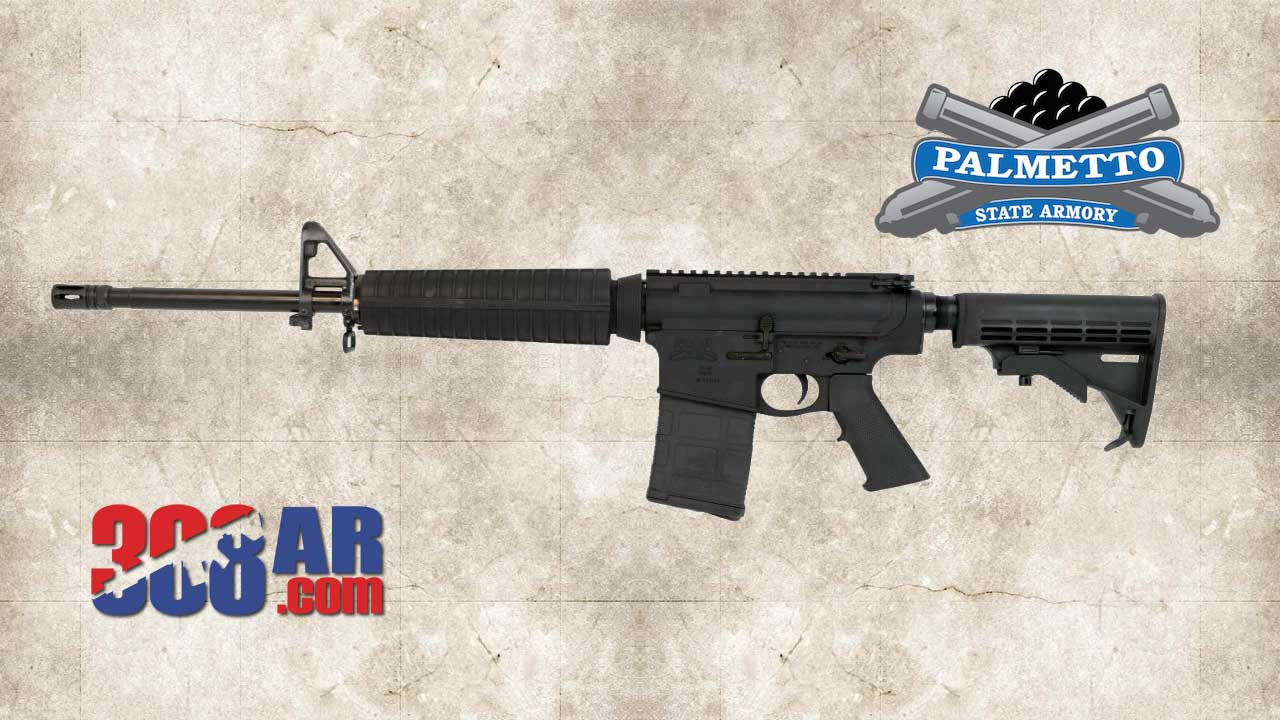 "Palmetto State Armory PSA Gen2 PA10 18"" Mid-Length .308 WIN Nitride Classic Rifle"