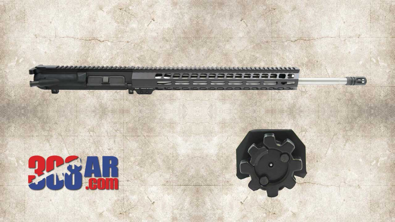 Picture of a PSA GEN2 PA-65 20″ 6.5 CREEDMOOR 1:8 SS 15″ M-LOK UPPER RECEIVER