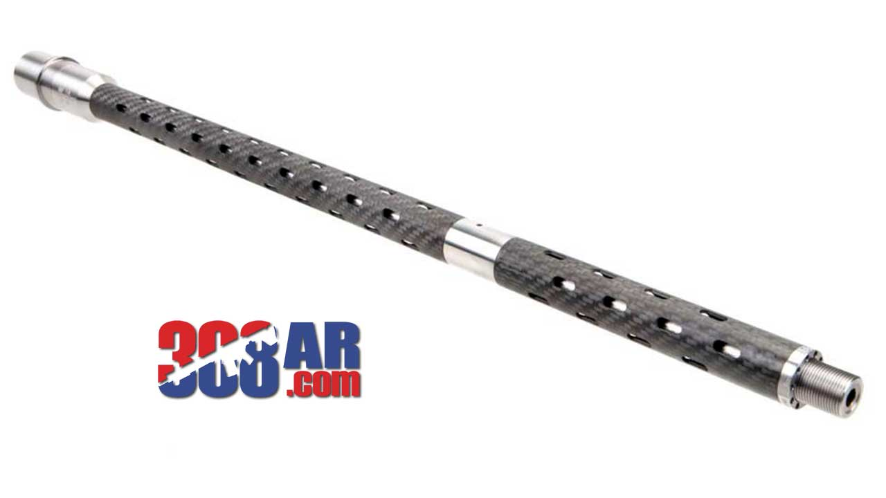"Picture of a BSF BARRELS 6.5 CREEDMOOR RIFLE+2 GAS 1/8 TWIST 22"" BLACK/GRAY FLUTED"