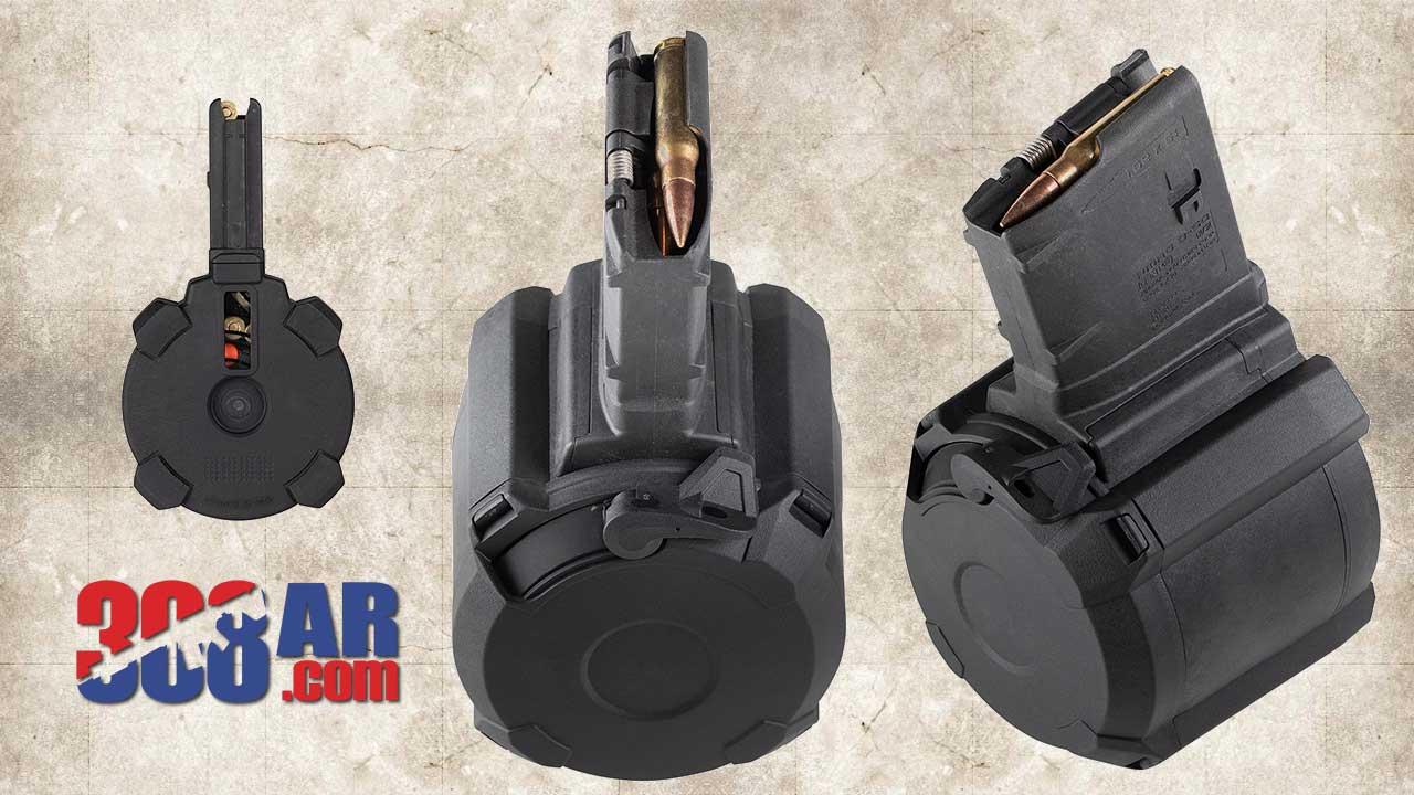 Picture of Magpul PMAG D-50 308 AR Drum Magazine MAG993