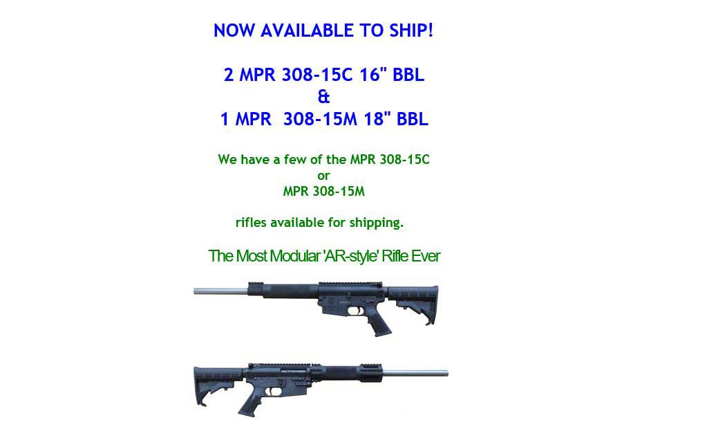Picture of Olympic Arms MPR 308 Rifles