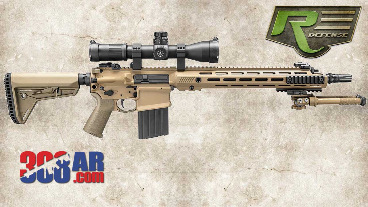 Picture of a Remington Defense ERSR R10 Extended Range Assault Sniper Rifle