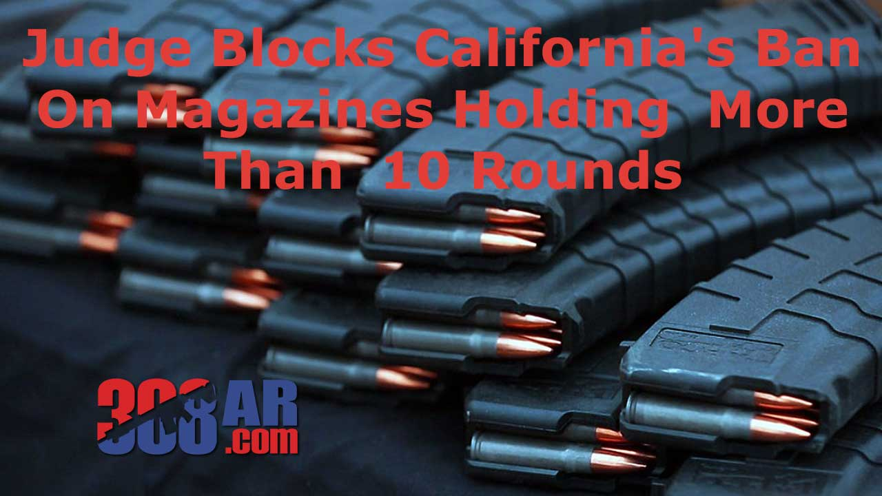 Picture of High Capacity AR-15 Magazines