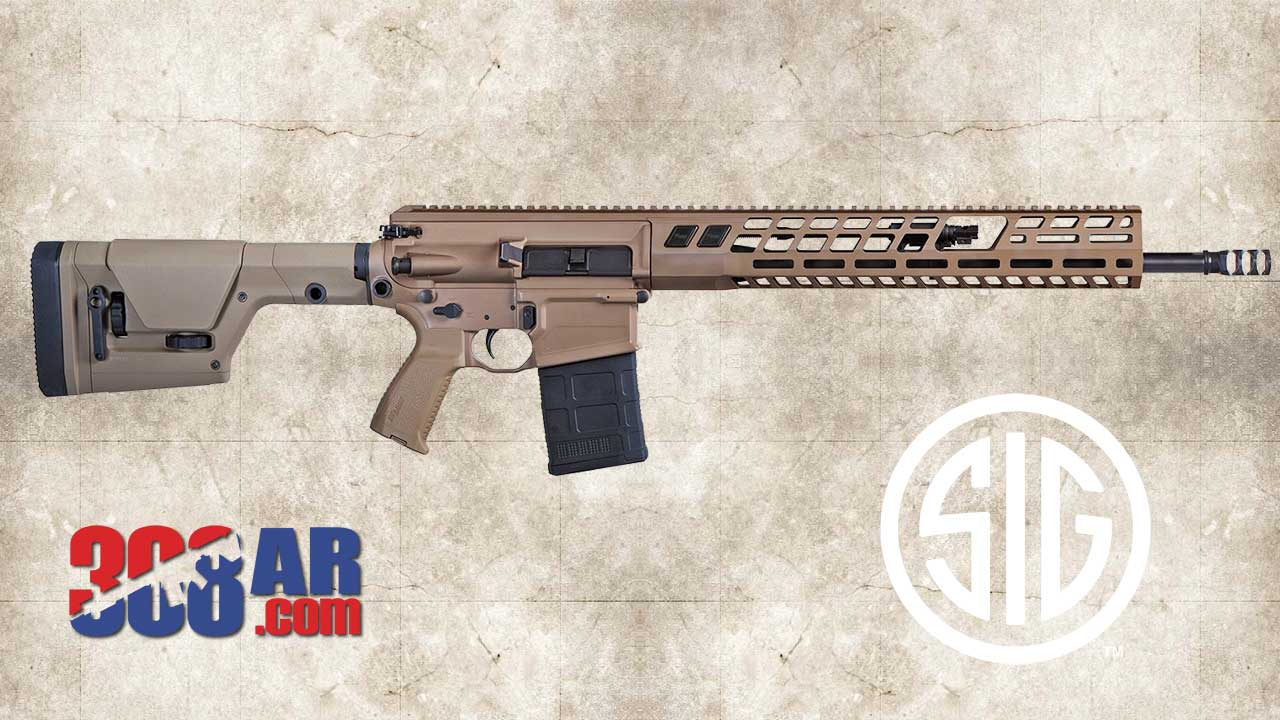 Picture of a SIG716G2 DMR RIFLE 6.5 CREEDMOOR