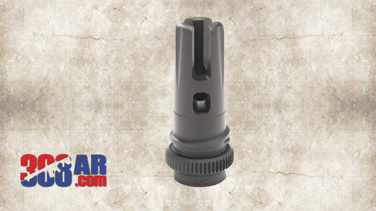 Picture of an Advanced Armament AAC BRAKEOUT 2.0 51T Compensator