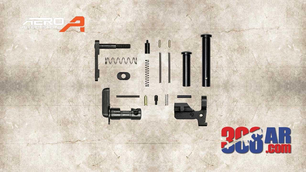 Aero Precision M5 308 Lower Parts Kit Minus FCG Pistol Grip