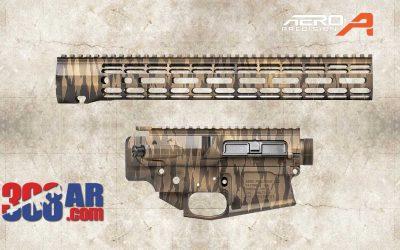 Aero Precision M5 Exotic Tiger Stripe Builder Set 308