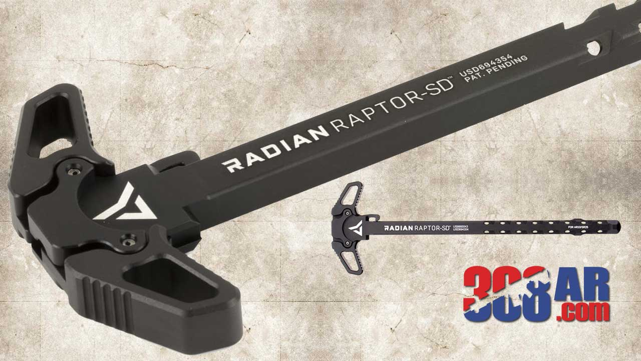 Picture of a Radian Raptor-SD Ambidextrous Charging Handle Assembly .308 R0012