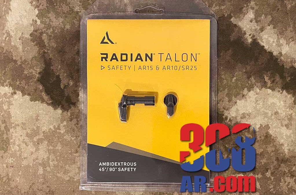 Radian Weapons Talon Ambidextrous Safety Selector