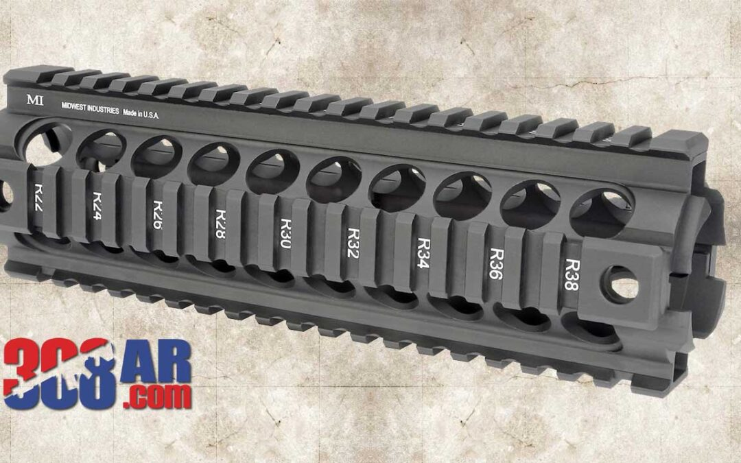 Midwest Industries MI AR-10 Gen2 Two Piece Handguard