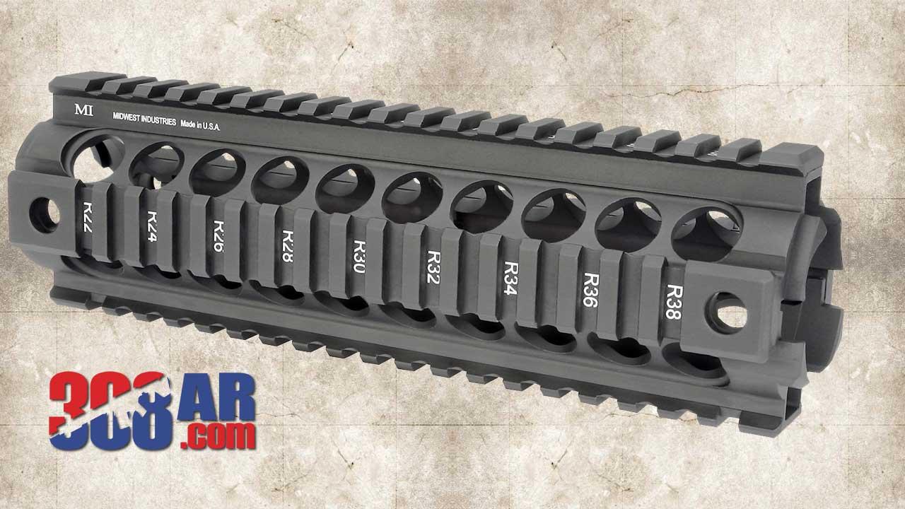 Midwest Industries Gen 2 AR-10 Handguard MI-AR10CHG2