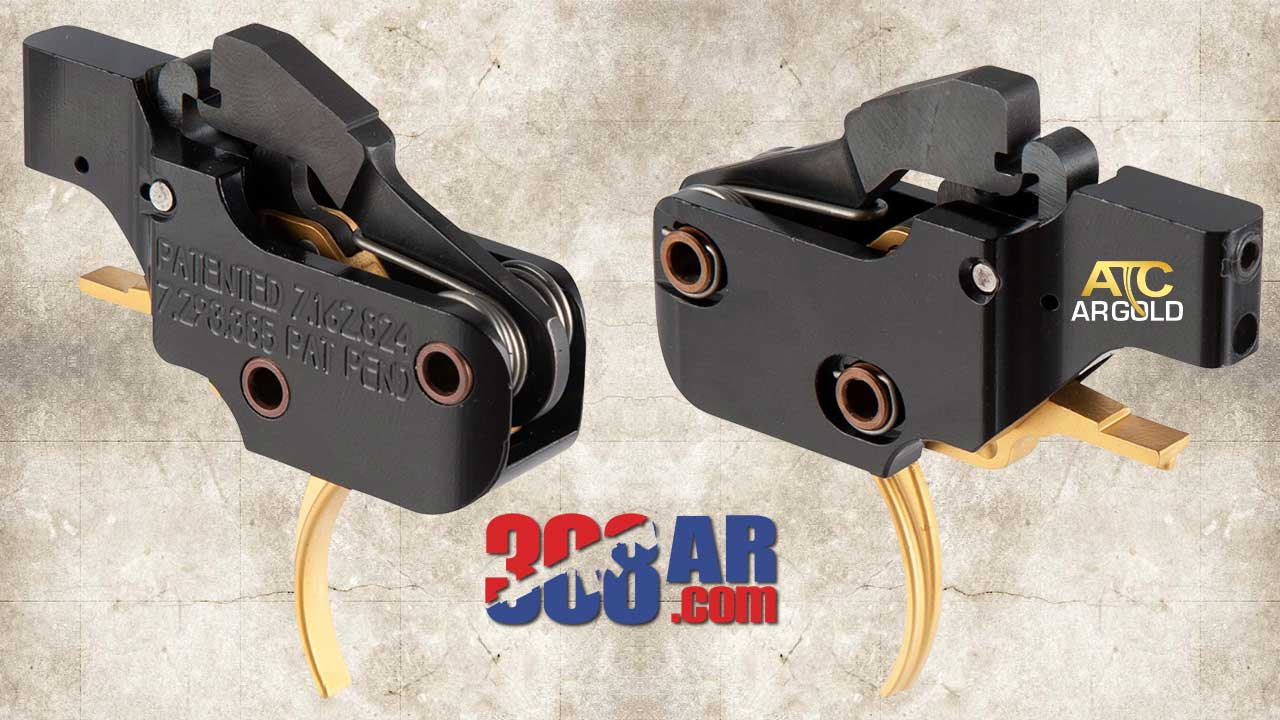 American Trigger Corp AR Gold AR 308 Adjustable Trigger