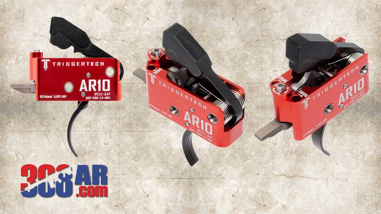 Triggertech 308 AR Diamond Trigger
